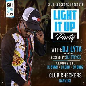 Light It Up Party Club Checkers Nanyuki