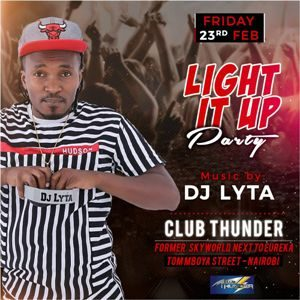 Light It Up Party Club Thunder