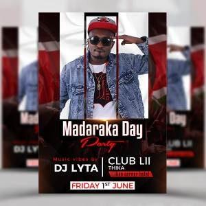 MADARAKA DAY PARTY CLUB LII THIKA